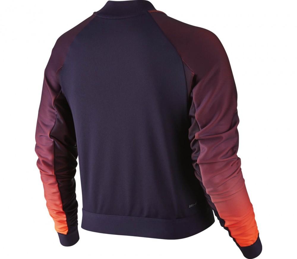 chaquetas nike purpura