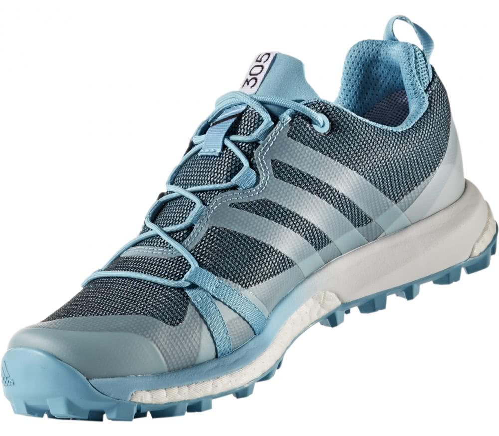 Adidas - Terrex Agravic GTX Mujer Calzado Trail Running (azul/blanco)