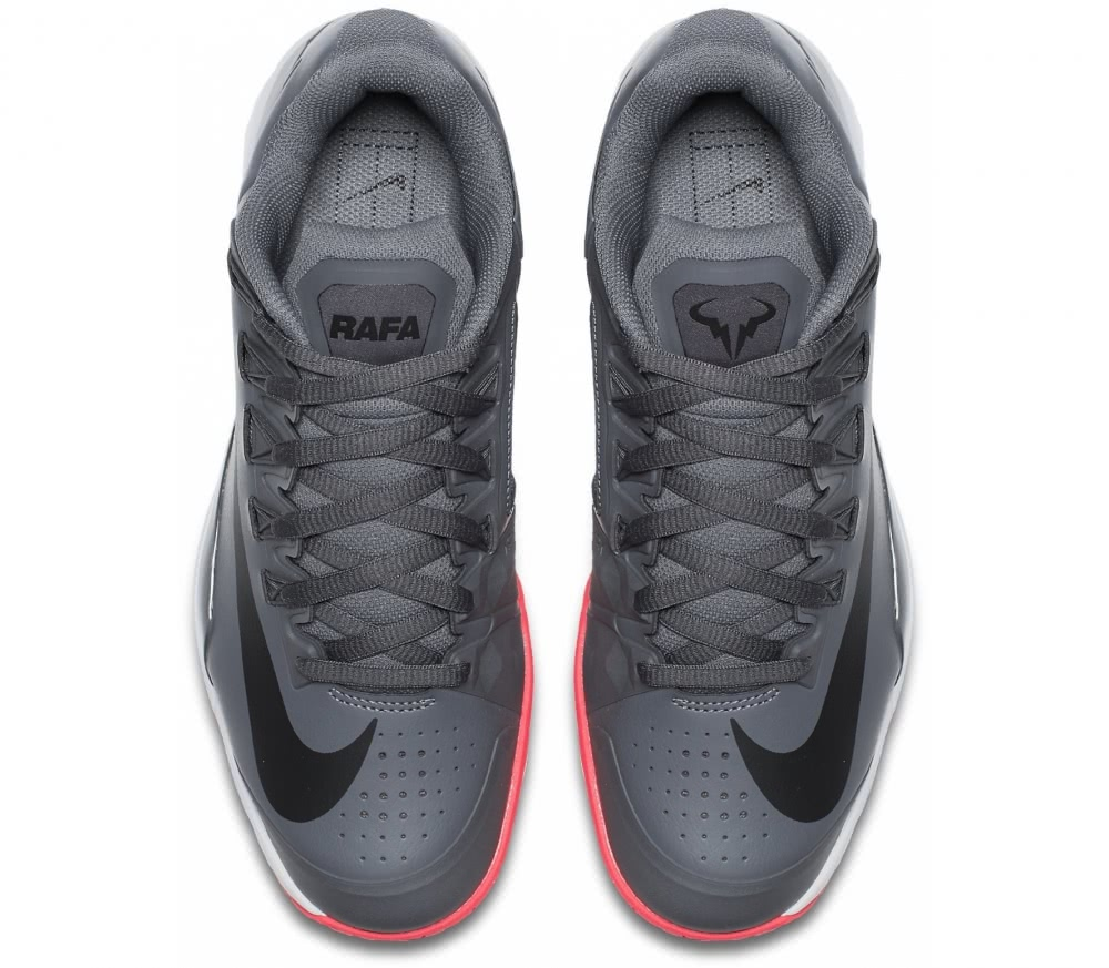 477d86a7bf Nike - Lunar Ballistec 1.5 LG Rafael Nadal zapatillas de tenis para hombre  (gris) ...