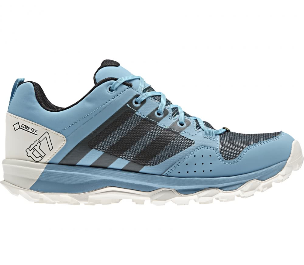 Zapatos azules Adidas Kanadia para mujer BucEEzZFZM