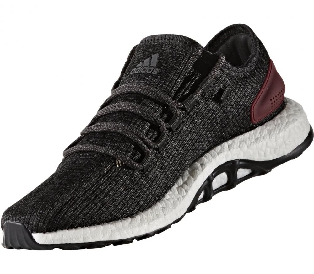 Adidas - Pure Boost zapatillas de running para hombre (negro/gris)