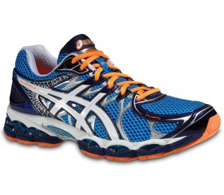 Asics - Gel-Nimbus 16 Zapatillas para Hombre (azul/naranja)