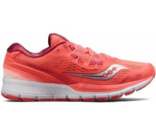 Saucony - Zealot ISO 3 Mujer Zapatos para correr (coral/plata)
