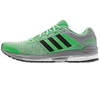 Adidas - Revenge Boost 2 Zapatillas de running para hombre (negro/gris)
