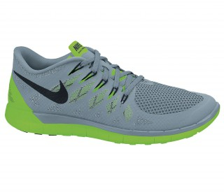 Nike Grises Con Verde