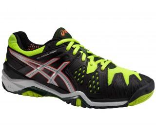 Asics - Gel-Resolution 6 Zapatillas para hombre (amarillo/negro)