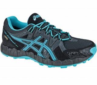 Asics - Gel Fujitrainer 2 Zapatillas para mujer (negro/azul)