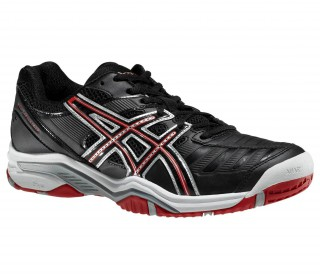 Asics - Gel-Challenger 9 Zapatillas para hombre (negro/rojo)