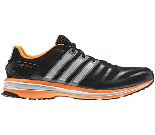 Adidas - Sonic Boost Zapatillas para hombre (negro/naranja)