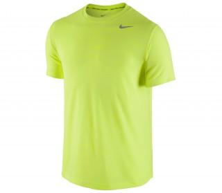 Nike - Dri-Fit Shortsleeve Heathered Camiseta para hombre (gris)