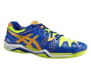 Asics - Gel-Resolution 6 Clay Zapatillas para hombre (azul/amarillo)