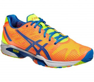 Asics - Gel-Solution Speed 2 Clay Zapatillas para hombre (naranja/azul)