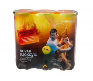 Head - Pelotas de tenis Championship Novak Special Edition 3x3