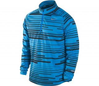 Nike - Element Jacq Camiseta 1/2 cremallera para hombre