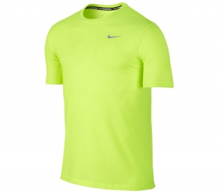 Nike - Dri-Fit Cool Tailwind Camiseta de manga corta de running para hombre (verde)