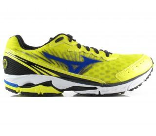 Mizuno - Wave Rider 16 Zapatillas para hombre (amarillo/azul)