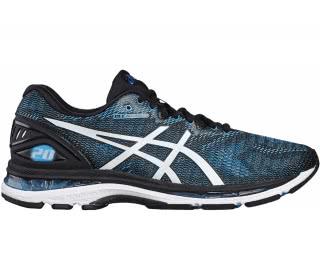 ASICS - Gel-Nimbus 20 Hombre Zapatos para correr (negro/azul)