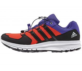 Adidas - Duramo Cross Trail Zapatillas para hombre (rojo/negro/azul)