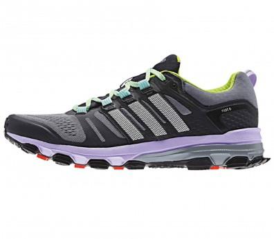 Adidas - Supernova Riot 6 Zapatillas para mujer (gris/morado)