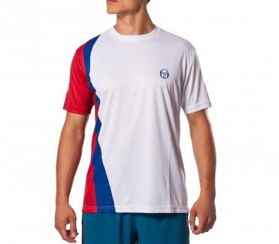 Sergio Tacchini - Barca Camiseta para hombre (blanco)